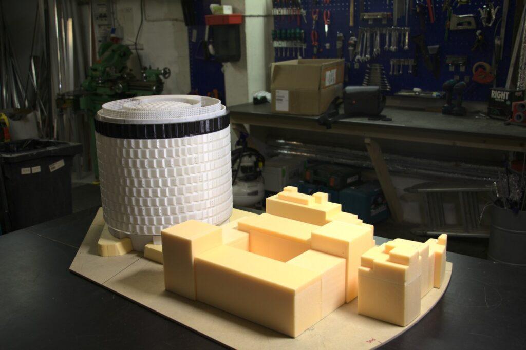 Redmolen Nordsø spidsen 3D model - 3D printet