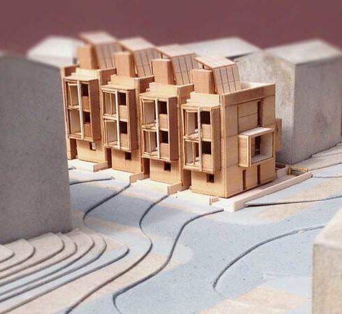 Kontektsmodel af bygning - Arkitekturmodel